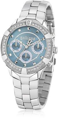 John Galliano Stainlees Steel Crystals Women's Watch