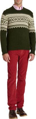 Gant Fairisle Crewneck Sweater