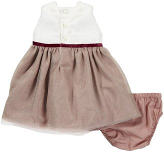 Carter's Dress - Ivory/Pink Tulle- Newborn