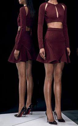 Cushnie et Ochs Power Viscose Skirt