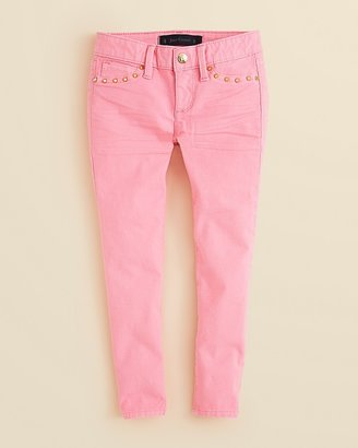 Juicy Couture Girls' Cropped Denim Pants - Sizes 2-6