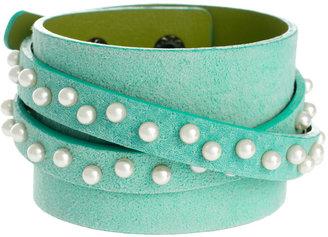 Asos Limited Edition Pearl Wrap Bracelet