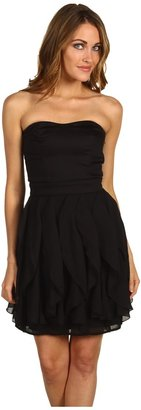 French Connection Candice Strapless Dress (Black) - Apparel