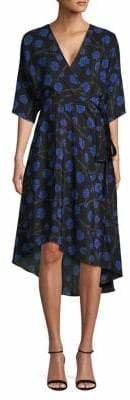 Diane von Furstenberg Eloise Printed Midi Dress