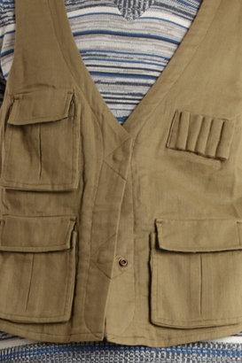 Charlotte Ronson Army Vest