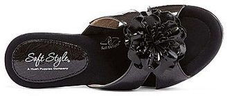 SoftStyle Soft Style® by Hush Puppies Wynsome Flower Wedge Slide Sandals
