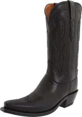 Lucchese Classics Women's Grace-BLK Ranch Hand Riding Boot