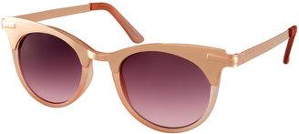 Asos Metal Top Cat Eye Sunglasses