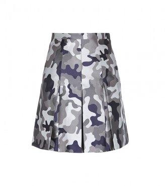 Christopher Kane Jacquard silk skirt