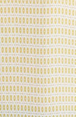 Caslon Split Neck Print Blouse (Regular & Petite)