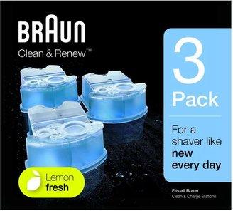 Braun Clean and Renew Cartridges Lemonfresh Formula