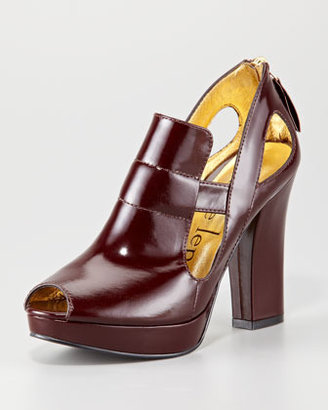Nanette Lepore Hypnotic Leather Bootie