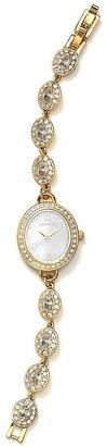 Carolee Gold Oval Bracelet Watch, 28mm