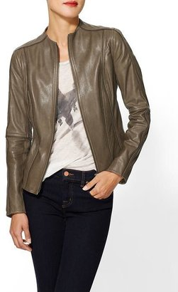 Haute Hippie Zipper Leather Jacket