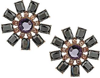 Topshop Stone Flower Stud Earring
