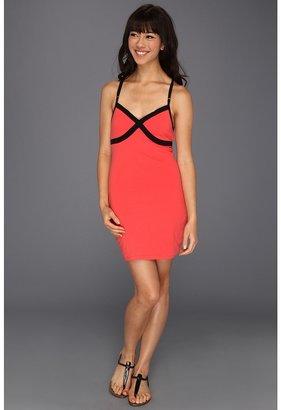 Fox Vivacious Dress (Black) - Apparel