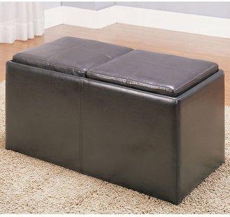 Homevance 3-pc. storage ottoman set