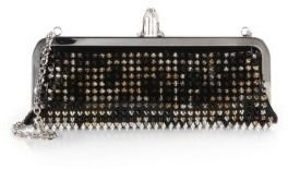 Christian Louboutin Miss Loubi Studded Patent Leather Clutch