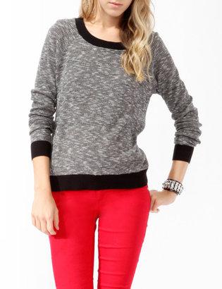 Forever 21 Melange Contrast Sweater