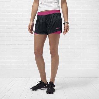 Nike Two-In-One Mesh Women's Training Shorts