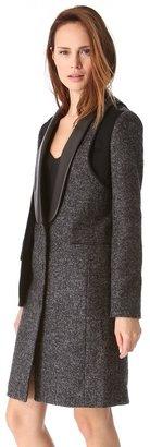Alexander Wang Tailored External Lining Coat