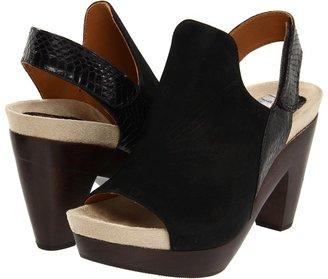 Earthies Positano (Black) - Footwear