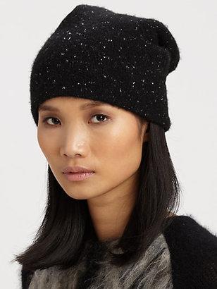 Alexander Wang Cashmere & Cotton Donegal Hat