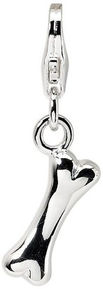 Amore La Vita Sterling Dog Bone Charm
