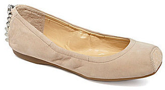 Gianni Bini Zippie Square-Toe Flats