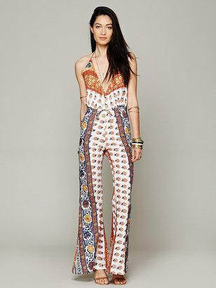 Free People Novella Royale Lady Tangier Jumpsuit