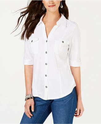 Style&Co. Style & Co Utility Shirt