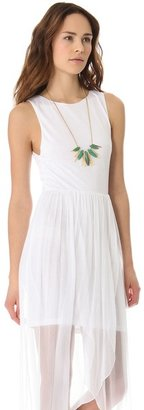 Alice + Olivia Air by Boatneck Tulip Dress