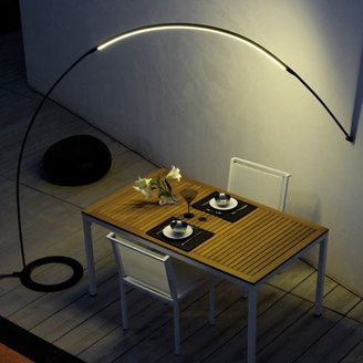 Vibia Halley Floor-to-Wall Outdoor Floor Lamp