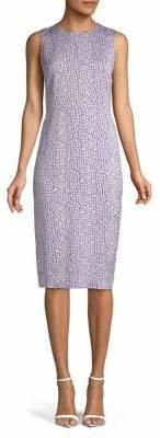 Diane von Furstenberg Printed Sheath Dress