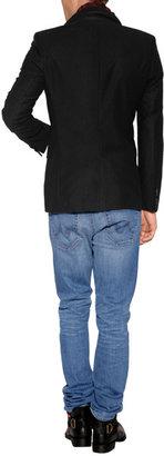 HUGO Cotton Aeris Blazer in Black