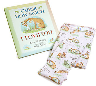 Books To Bed Infant's Three-Piece Guess How Much I Love You PJ & Book Set