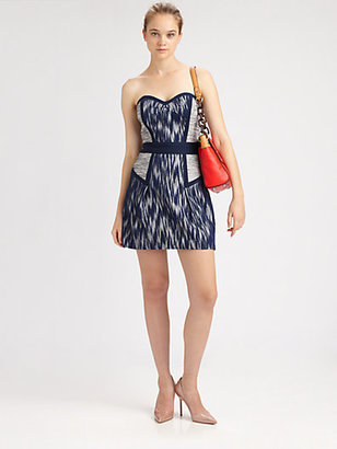 Milly Diana Strapless Dress
