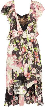 Vanessa Bruno Printed silk wrap dress