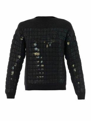 Alexander Wang Mirror insert mohair sweater