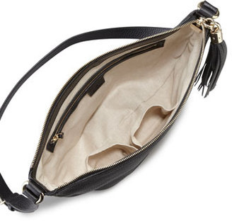 Gucci Soho Leather Messenger Bag Bag, Black