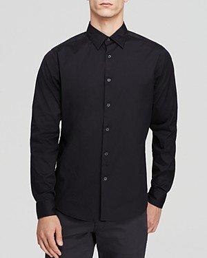 Theory Sylvain Good Cotton Slim Fit Button-Down Shirt