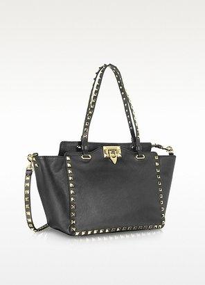 Valentino Garavani Rockstud Leather Tote w/Shoulder Strap