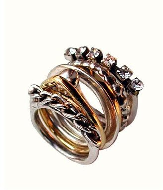 Iosselliani Loose Stacked Ring