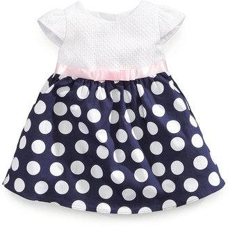 Rare Editions Baby Girls' Dot Dress