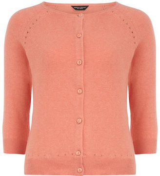 Dorothy Perkins Coral cotton cardigan