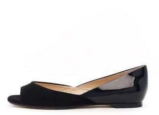 Michael Kors KORS Tullah Suede/ Patent Leather Flat