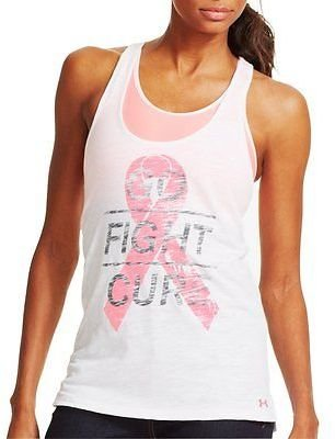 Under Armour Women's Power In Pink Go Fight Cure Tank