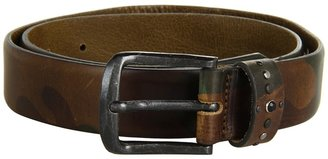 Diesel Bochion Camo Belt (Olive Green) - Apparel