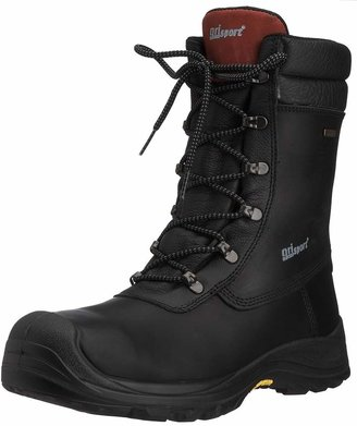 Grisport Men's Boulder S3 Safety Boots Black AMG011 6 UK