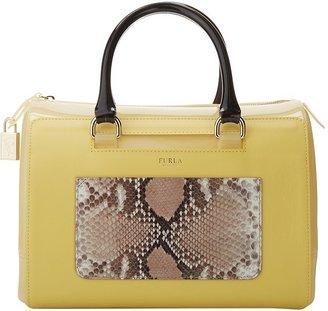 Furla Candy Bag with Leather Satchel Handbag